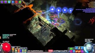 Path of Exile Act 4: EBMoM Ball Lightning vs Double Megaera!