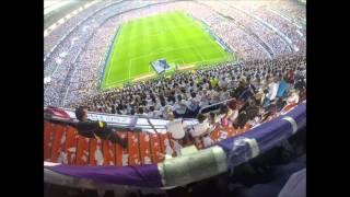 Grada de Animación Fans RMCF - Dale Cavese - Real Madrid vs...