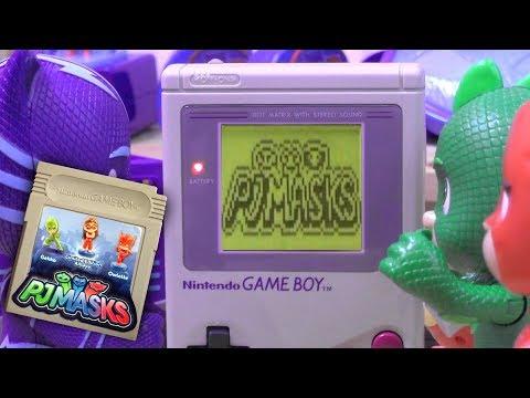 PJ Masks Catboy Finds Retro PJ Masks Nintendo Gameboy Game