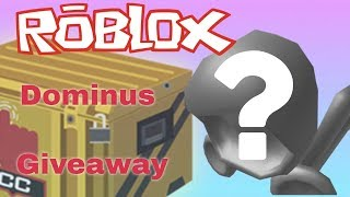 [Ended] Case Clicker - Dominus Giveaway // Roblox