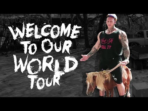 WELCOME TO MY WORLD TOUR EP. 1 | MARTYN FORD | Horse Riding Training