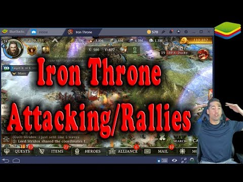 Iron Throne Attacking Other Guilds for Resources!