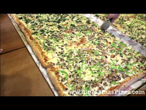 "World Famous Pizza: ""Behind the Scenes"" on the Set of the Great American Eater Pizza Challenge"