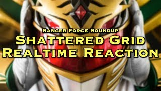 Power Rangers: Shattered Grid REALTIME REACTION [RFR Ep. 29]