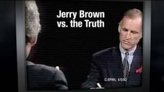 Jerry Brown vs. the Truth