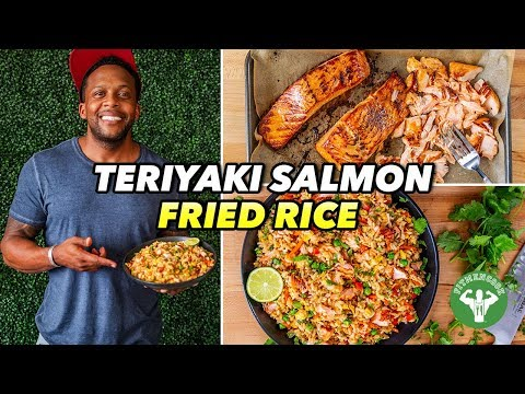 Weeknight Meals - Teriyaki Salmon Recipe With Fried Rice