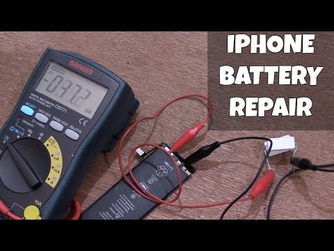 iPhone Battery Repair Attempt