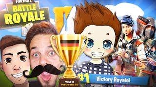 GEWONNEN gegen die BESTEN SPIELER DEUTSCHLANDS! | Fortnite Battle Royale