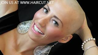 Repeat youtube video CONFIDENT CHRISTINA HEADSHAVE VIDEO WWW.HAIRCUT.NET JOIN US!!