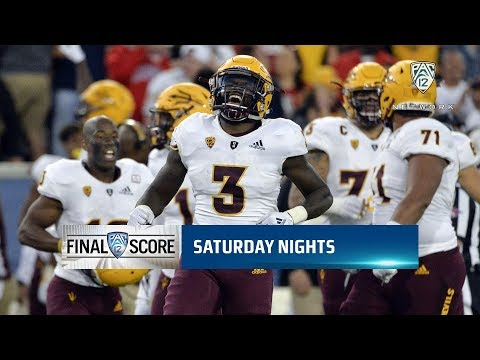 Highlights: Arizona State football bounces back from 19-point deficit to defeat ASU