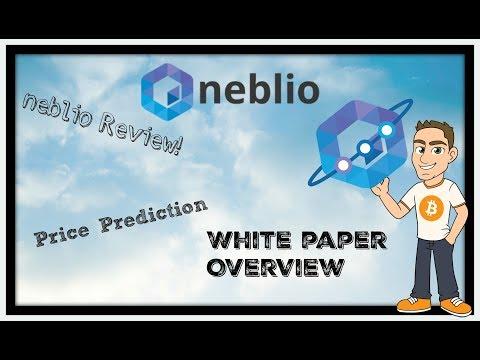 NEBL / Neblio Coin Review: Neblio Price Prediction