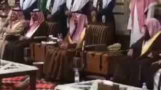 شاهد.. كلمة فيصل بن خالد للقادمين لتعزيته في وفاة أخيه بندر