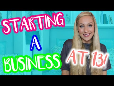 HOW I STARTED MY OWN BUSINESS AT 13! Tips and Tricks To Start Your Own Business :)
