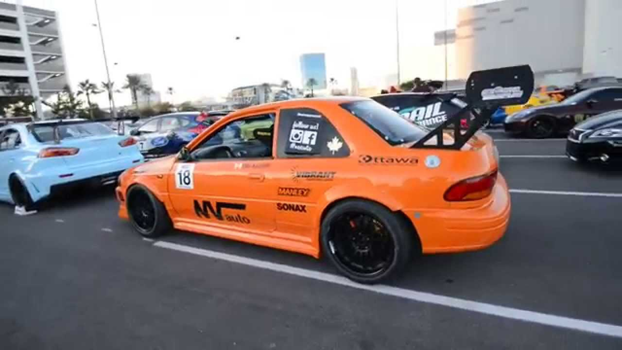 Subaru GC8 STI Race Car - YouTube