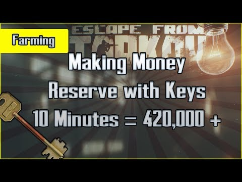 Reserve Money Run with Keys (Route #2) Make Millions Fast - Military Base Escape from Tarkov Guide