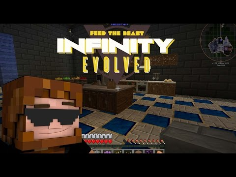 Minecraft: FTB Infinity Evolved Season 1 - Server Tour