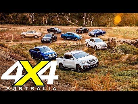2018 Mega Ute Test | 4X4 Australia