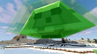 So I made Slimes grow Infinitely in Minecraft...