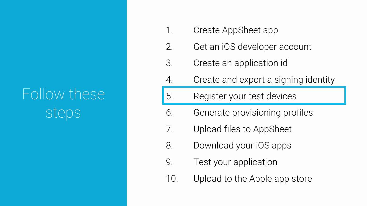 Create and Deploy White Label Native Apps for iOS | AppSheet