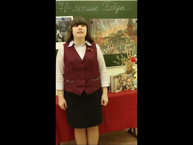 Изображение предпросмотра прочтения – ДианаЩербакова читает произведение «Баллада о молчании» Р.И.Рождественского