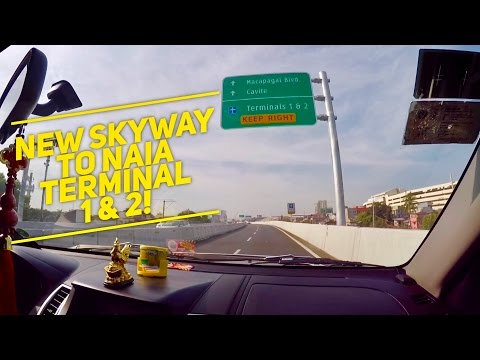 NAIA Expressway to NAIA Terminal 1 and 2 Now Open! by HourPh