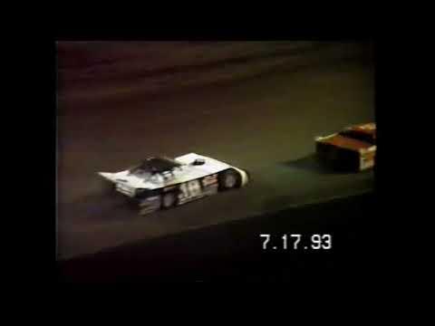 1993 Dirt Late Models at Cedar Lake Speedway