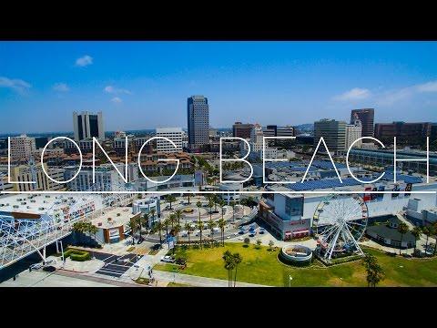 Long Beach Aerial Montage in 2K !