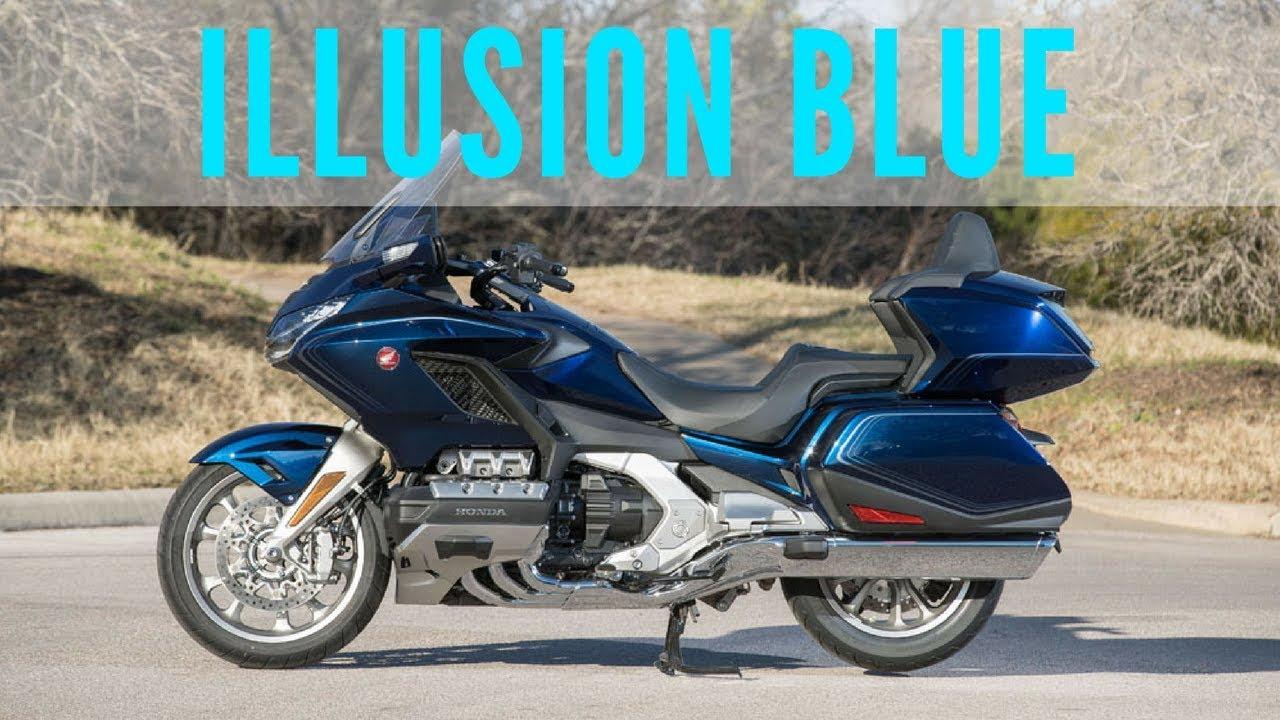 2018 Honda Goldwing Illusion Blue