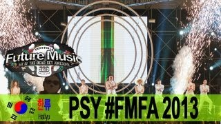 PSY @ Future Music Festival Asia 2013 - Hallyu Special Episode