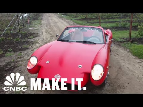 This Car Made From Hemp Cannabis Is Stronger Than Steel | CNBC Make It.