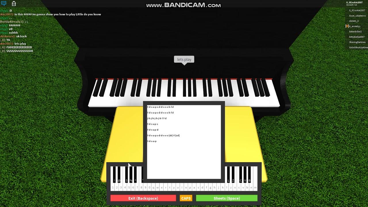 Roblox Piano
