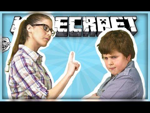 Видео, ТРОЛЛИНГ В MINECRAFT 10 мама отругала школьника за игру в майнкрафт .ne,
