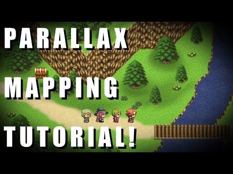 RPG Maker MV - Parallax Mapping Tutorial!