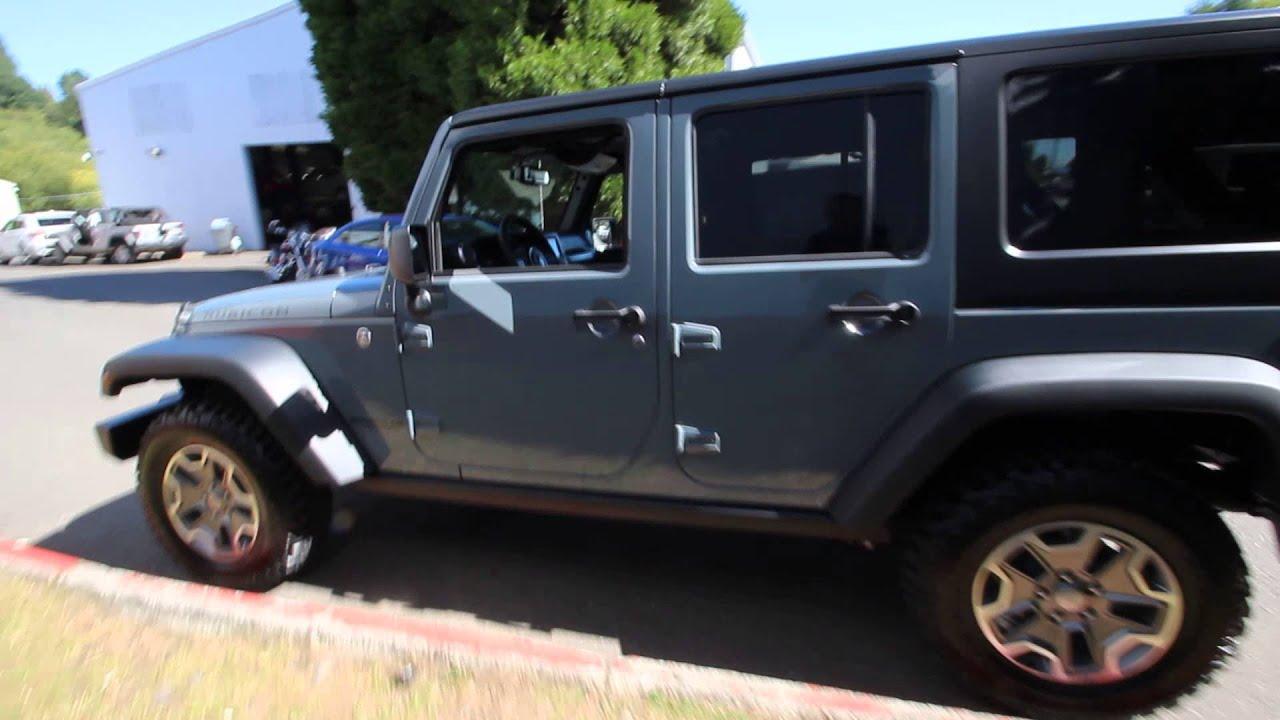 2015 Jeep Wrangler Unlimited Rubicon Anvil Fl521451 Redmond
