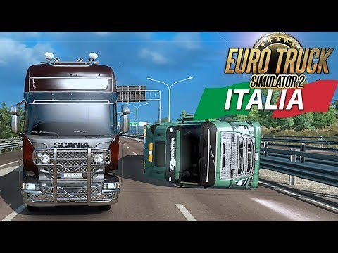 EURO TRUCK SIMULATOR 2 - DLC ITALIA - PODERAK NON CAMBIA MAI - GAMEPLAY ITA MULTIPLAYER