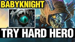 TRY HARD HERO - BabyKnight Plays Slark - Dota 2