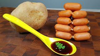감자와 소세지를 준비하세요! ✔정신없이 밥이 사라집니다…