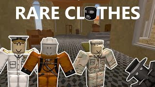 Where To Find NEW RARE Clothes|| Apocalypse Rising 2(Roblox)