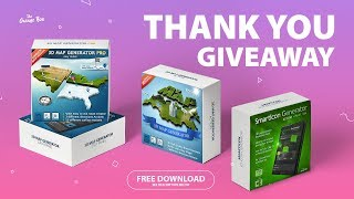 3D Map Generator Free Download - Official Giveaway