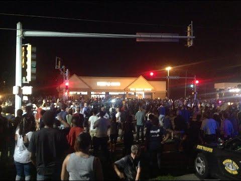 Ferguson Protest 8/18/2014 (As an Observer) iPad Video Three