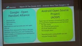 MOTD 2015 (4/5) - Android: Not Just Google's OS
