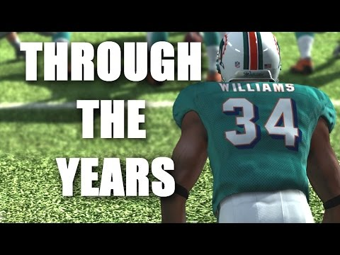 Ricky Williams Through the Years NCAA Football 99 - Madden 12