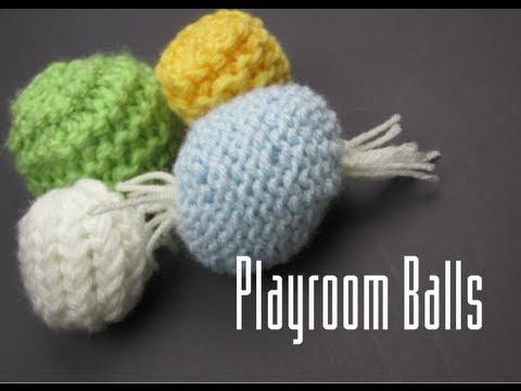 Loom Knitting Baby Playroom Balls Youtube