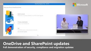 Updates to security, compliance and migration for OneDrive and SharePoint