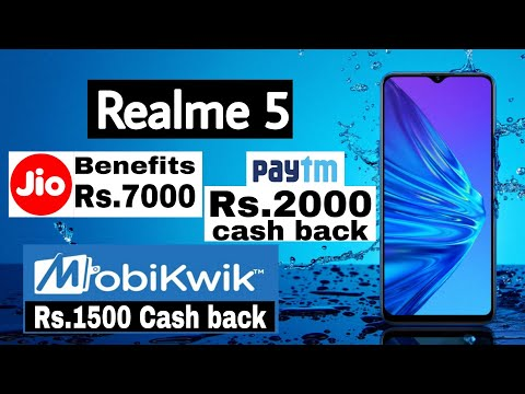 realme-5---rs.-7000-jio-benefits---rs.2000-paytm-cash-back-and-many-more-launching-offers.