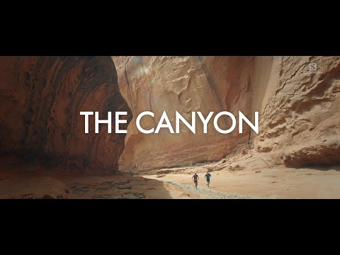 Running Slot Canyons in Utah