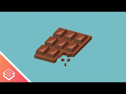 Inkscape Tutorial: Vector Chocolate Bar