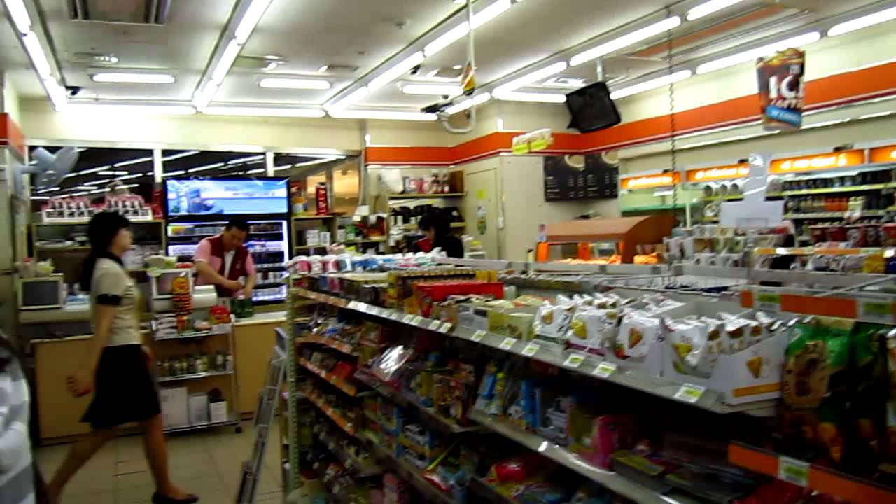 Korea convenience stores 7 11 youtube - Start convenience store countryside ...