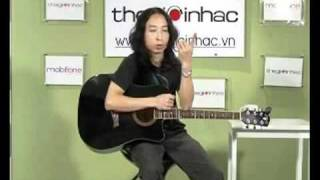 """guitar đệm hát """"bong hong thuy tinh.FLV"""