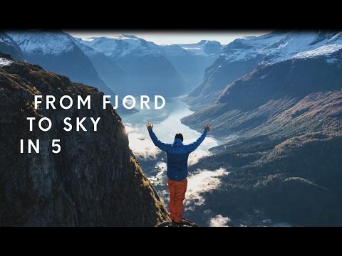 Loen Skylift - from fjord to sky in 5